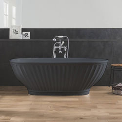 BC Designs Casini ColourKast Bath 1680mm (Gunmetal).