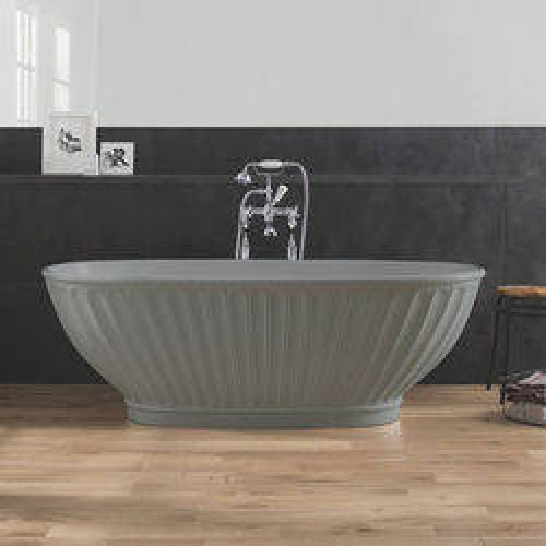 BC Designs Casini ColourKast Bath 1680mm (Industrial Grey).