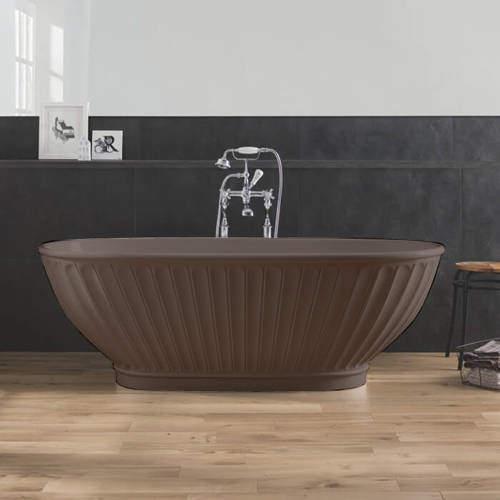 BC Designs Casini ColourKast Bath 1680mm (Mushroom).