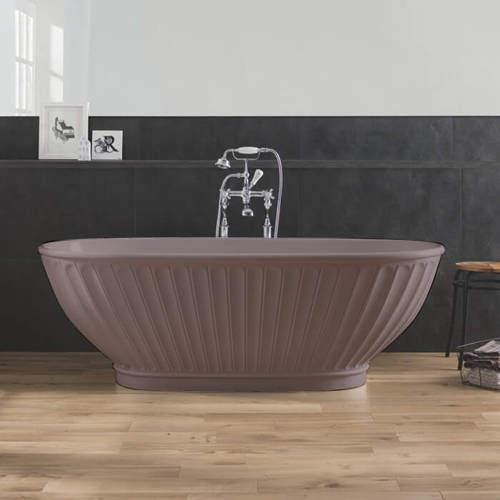 BC Designs Casini ColourKast Bath 1680mm (Satin Rose).
