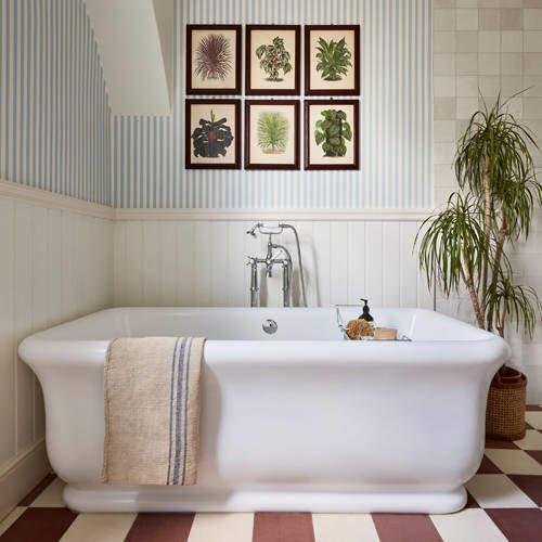 BC Designs Senator Bath 1800mm (Gloss White).