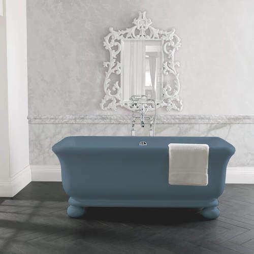 BC Designs Senator ColourKast Bath With Feet 1804mm (Powder Blue).