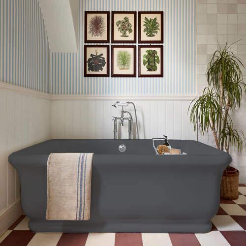 BC Designs Senator ColourKast Bath 1800mm (Gunmetal).