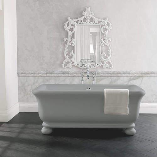 BC Designs Senator ColourKast Bath With Feet 1804mm (Industrial Grey).