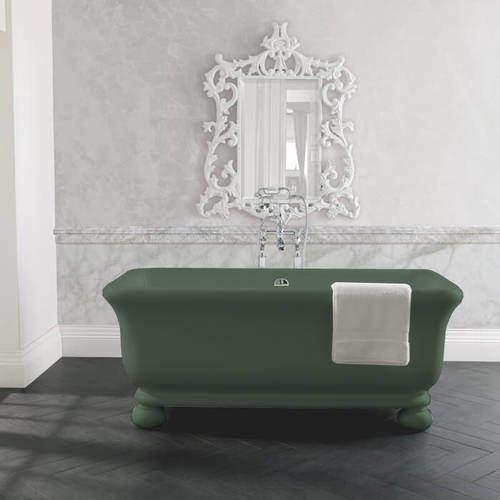 BC Designs Senator ColourKast Bath With Feet 1804mm (Khaki Green).