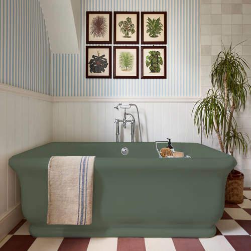 BC Designs Senator ColourKast Bath 1800mm (Khaki Green).