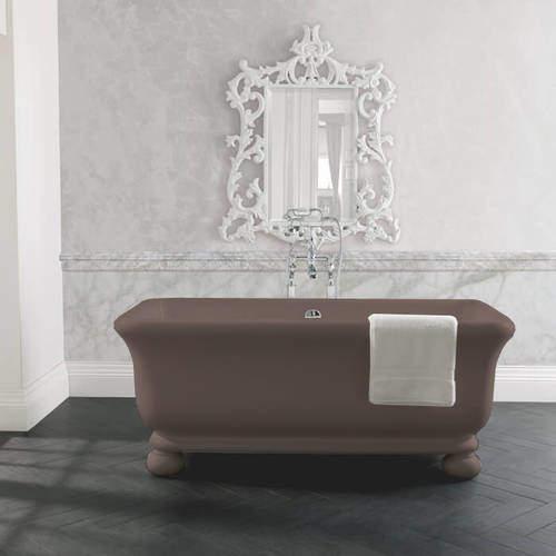 BC Designs Senator ColourKast Bath With Feet 1804mm (Mushroom).