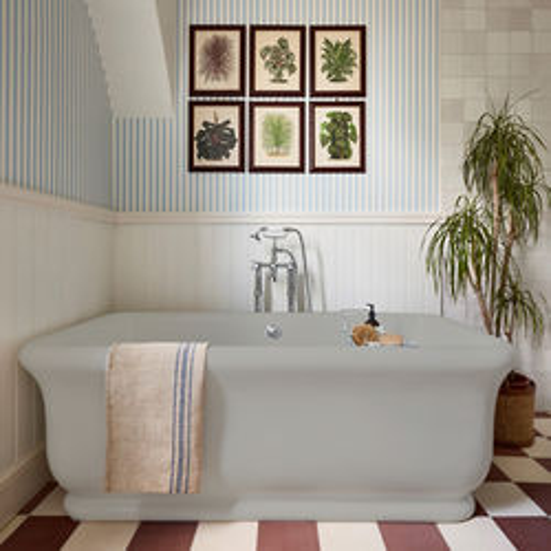 BC Designs Senator ColourKast Bath 1800mm (Powder Grey).