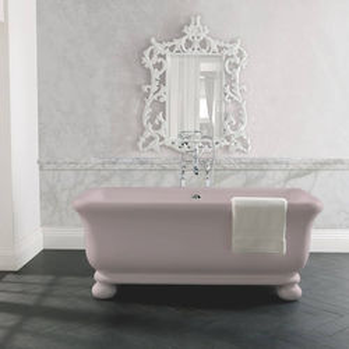 BC Designs Senator ColourKast Bath With Feet 1804mm (Satin Rose).