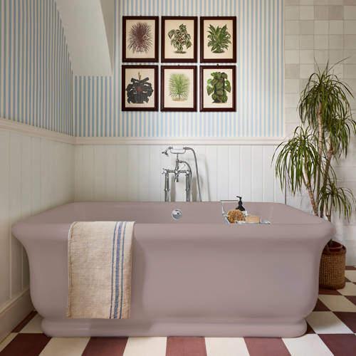 BC Designs Senator ColourKast Bath 1800mm (Satin Rose).