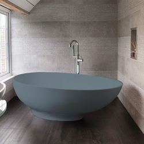 BC Designs Gio ColourKast Bath 1645mm (Powder Blue).