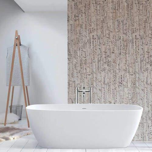 BC Designs Vive Bath 1610mm (Matt White).