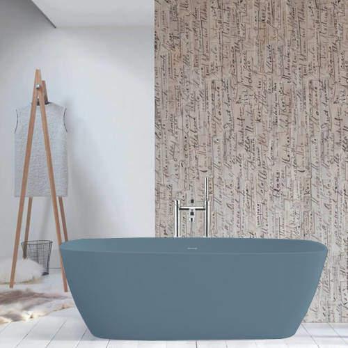 BC Designs Vive ColourKast Bath 1610mm (Powder Blue).