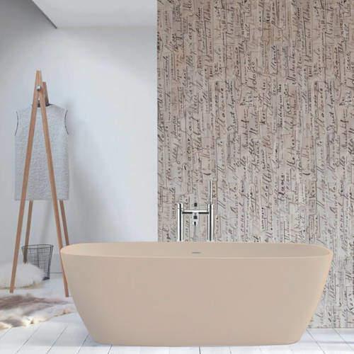 BC Designs Vive ColourKast Bath 1610mm (Light Fawn).