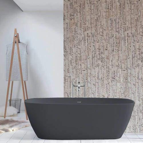 BC Designs Vive ColourKast Bath 1610mm (Gunmetal).