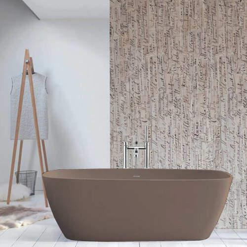 BC Designs Vive ColourKast Bath 1610mm (Mushroom).