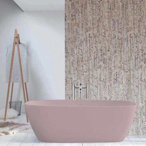 BC Designs Vive ColourKast Bath 1610mm (Satin Rose).