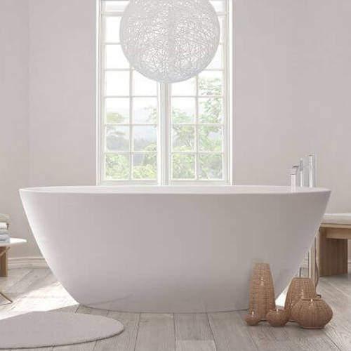 BC Designs Esseta Bath 1510mm (Polished White).