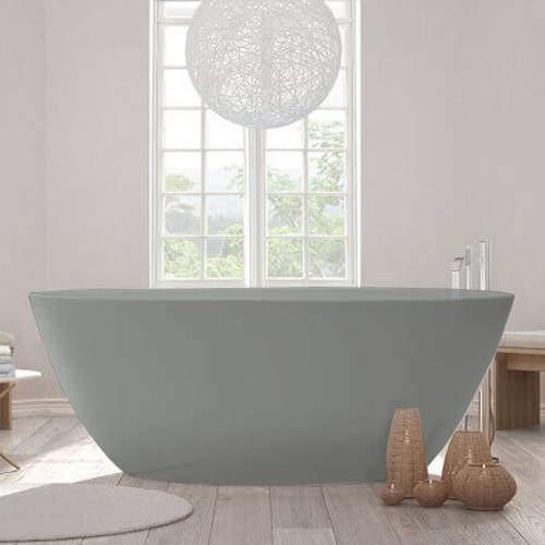 BC Designs Esseta ColourKast Bath 1510mm (Industrial Grey).