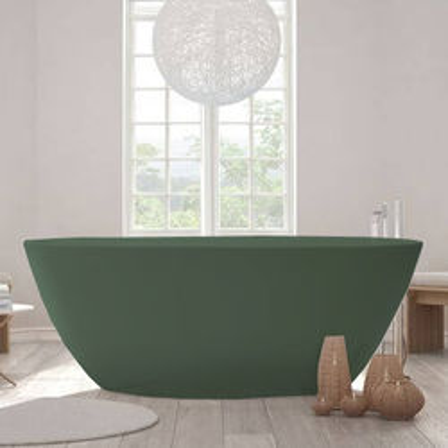 BC Designs Esseta ColourKast Bath 1510mm (Khaki Green).