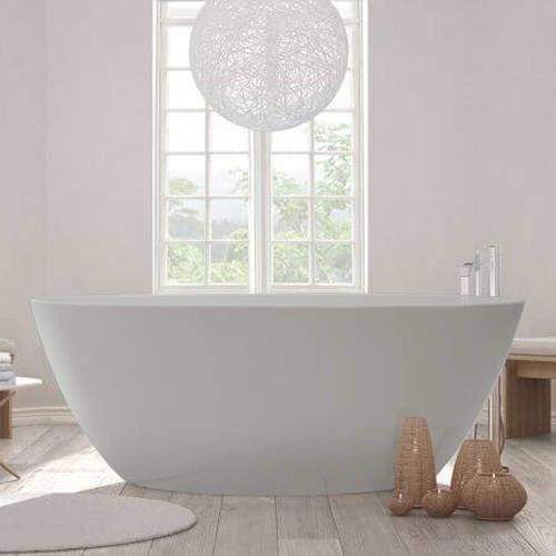 BC Designs Esseta ColourKast Bath 1510mm (Powder Grey).
