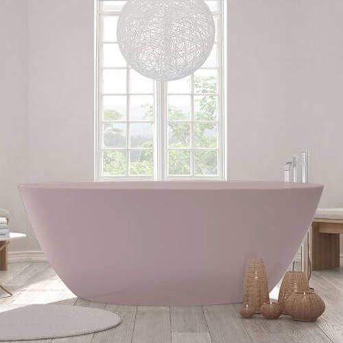 BC Designs Esseta ColourKast Bath 1510mm (Satin Rose).