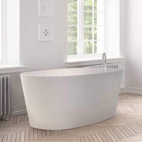 BC Designs Sorpressa Bath 1510mm (Matt White).