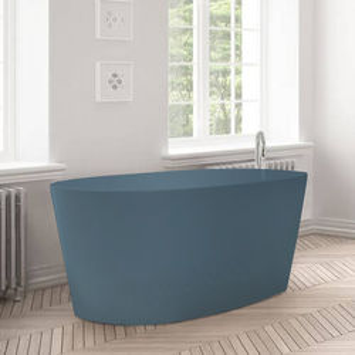 BC Designs Sorpressa ColourKast Bath 1510mm (Powder Blue).