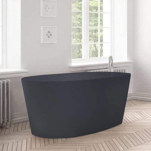 BC Designs Sorpressa ColourKast Bath 1510mm (Gunmetal).