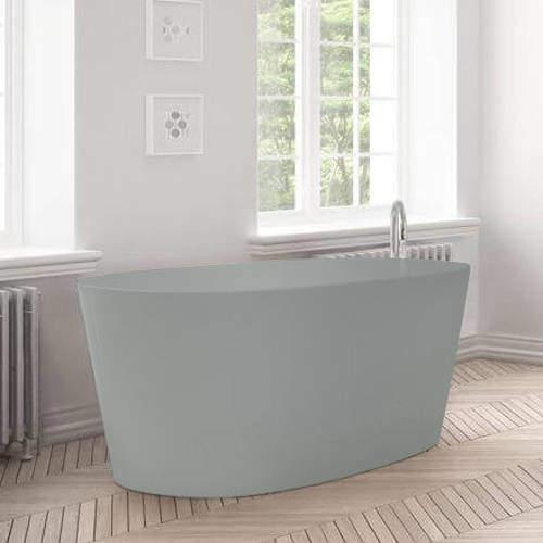 BC Designs Sorpressa ColourKast Bath 1510mm (Industrial Grey).
