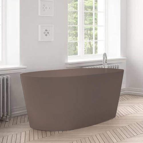 BC Designs Sorpressa ColourKast Bath 1510mm (Mushroom).