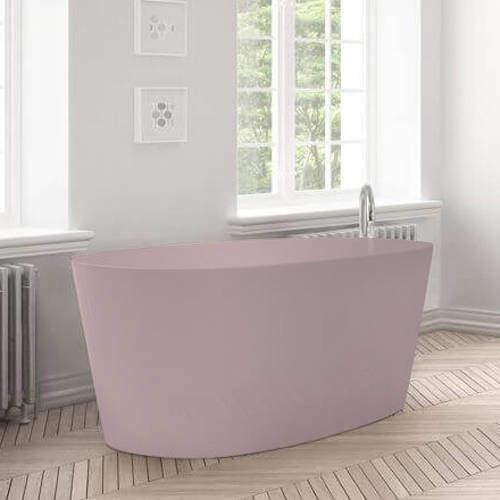 BC Designs Sorpressa ColourKast Bath 1510mm (Satin Rose).