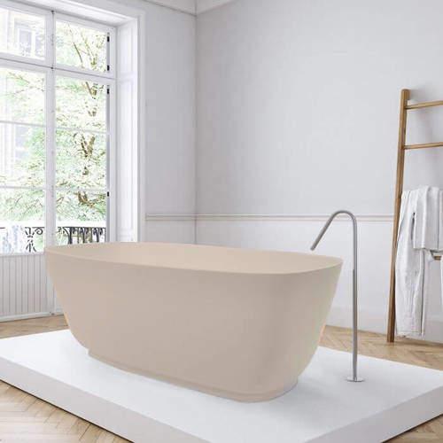 BC Designs Divita ColourKast Bath 1495mm (Light Fawn).