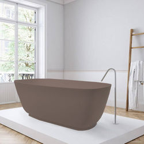 BC Designs Divita ColourKast Bath 1495mm (Mushroom).