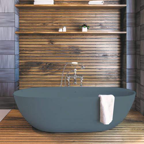 BC Designs Crea ColourKast Bath 1665mm (Powder Blue).
