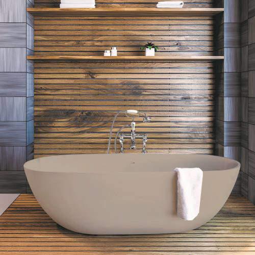 BC Designs Crea ColourKast Bath 1665mm (Light Fawn).