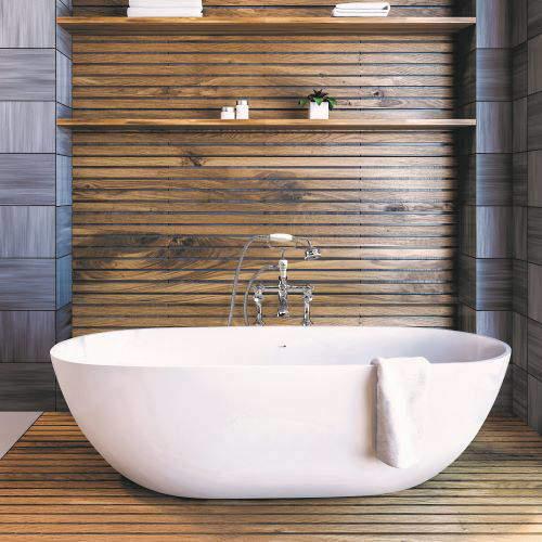 BC Designs Crea Bath 1665mm (Matt White).
