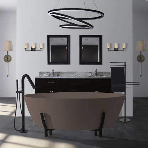BC Designs Essex ColourKast Bath With Stand 1510mm (Mushroom).