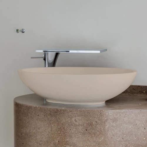 BC Designs Tasse/Gio ColourKast Basin 575mm (Light Fawn).