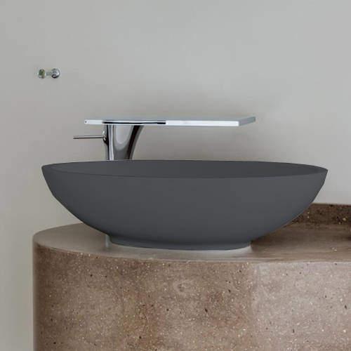 BC Designs Tasse/Gio ColourKast Basin 575mm (Gunmetal).