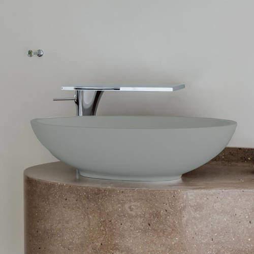 BC Designs Tasse/Gio ColourKast Basin 575mm (Industrial Grey).