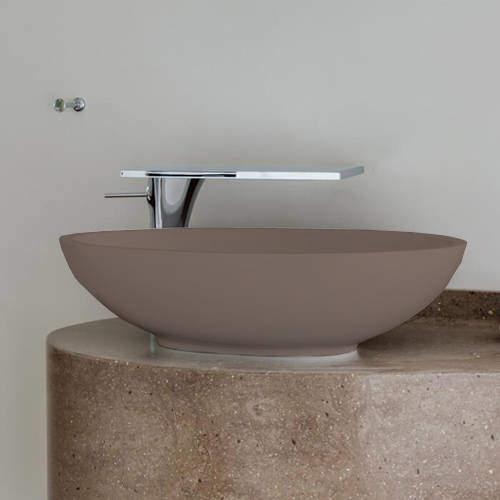 BC Designs Tasse/Gio ColourKast Basin 575mm (Mushroom).