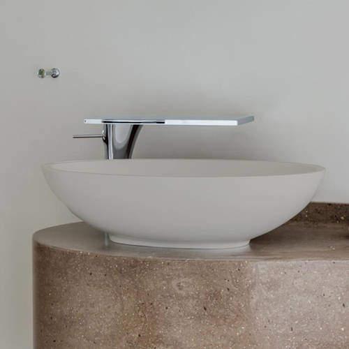 BC Designs Tasse/Gio ColourKast Basin 575mm (Powder Grey).