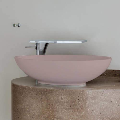 BC Designs Tasse/Gio ColourKast Basin 575mm (Satin Rose).