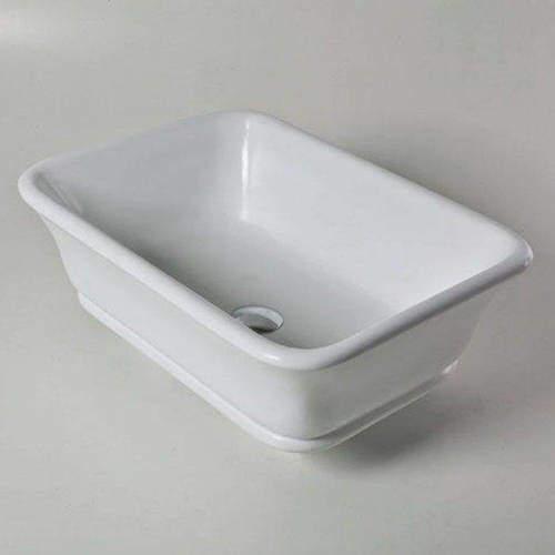 BC Designs Magnus / Senator Basin 525mm (Polished White).