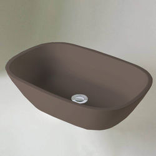 BC Designs Vive ColourKast Basin 530mm (Mushroom).