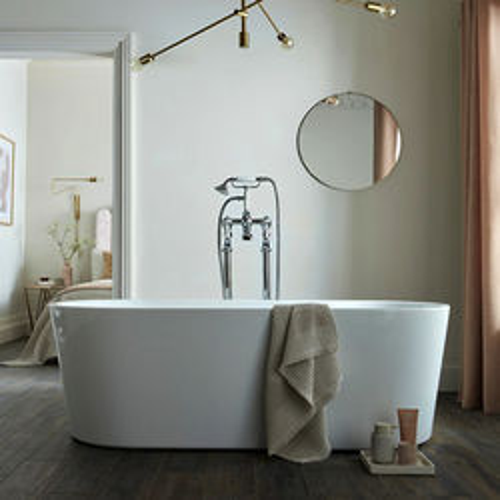 BC Designs Viado Bath 1580mm (Gloss White).
