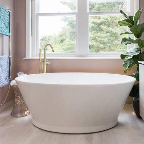 BC Designs Chalice Minor Bath 1650mm (Gloss White).