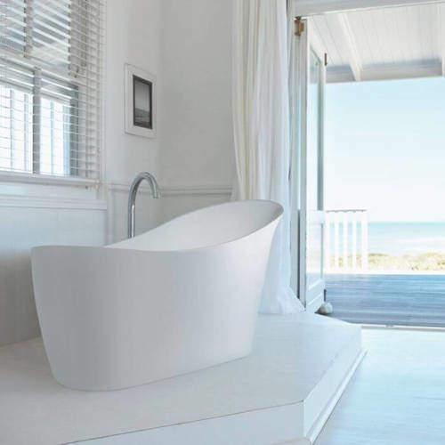 BC Designs Slipp Bath 1590mm (Gloss White).