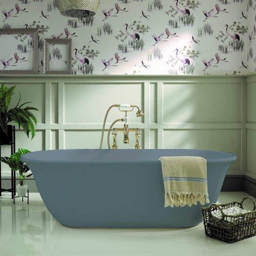 BC Designs Omnia ColourKast Bath 1615mm (Powder Blue).
